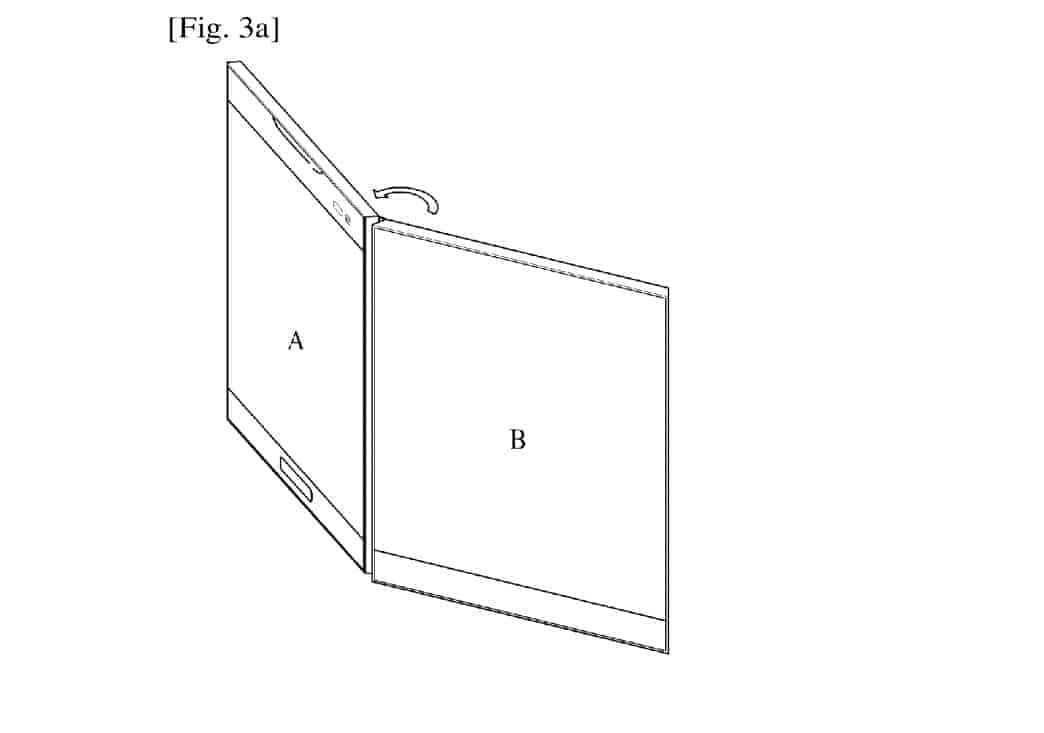 LG Foldable Display Device WIPO 2