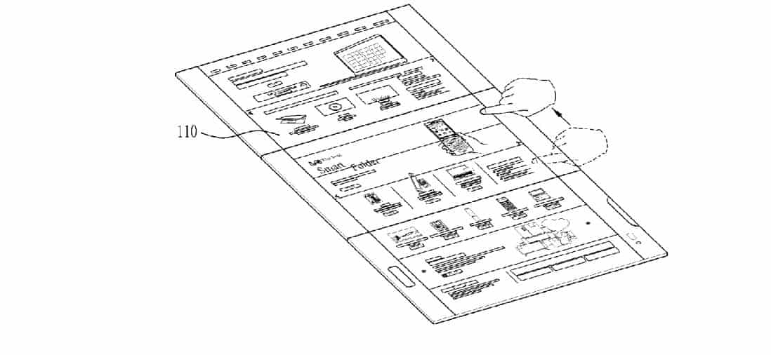 LG Foldable Display Device WIPO 8