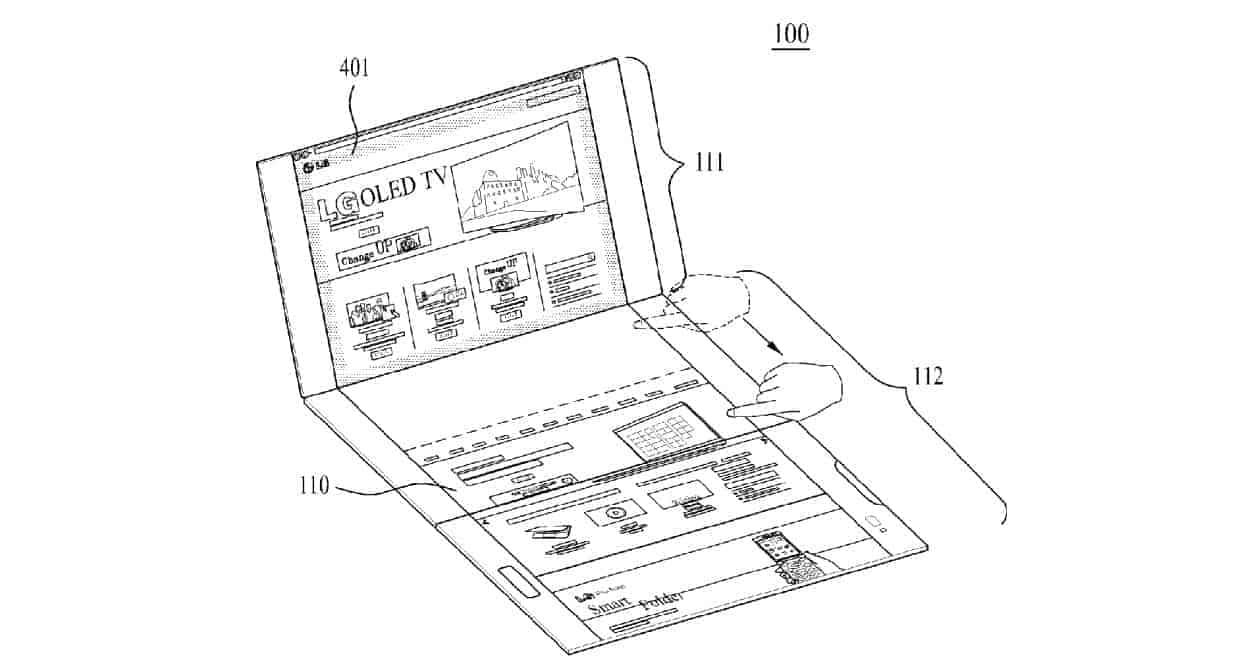 LG Foldable Display Device WIPO 9