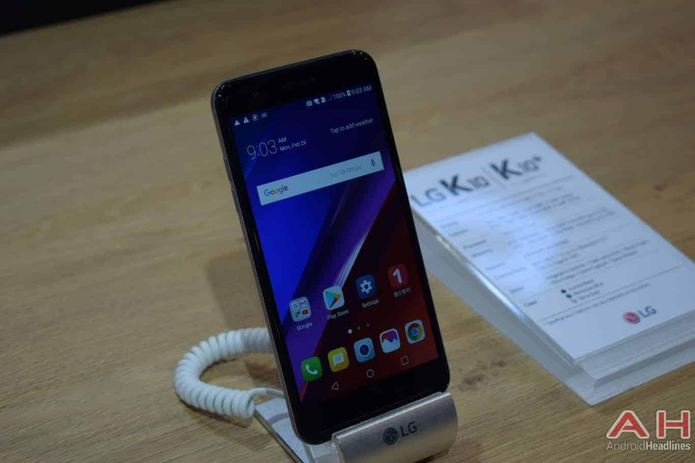 LG K10 2018 MWC 2018 image 6