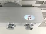 Livin Smart Shower Display music