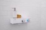 Livin Smart Shower Valve light glowing blue