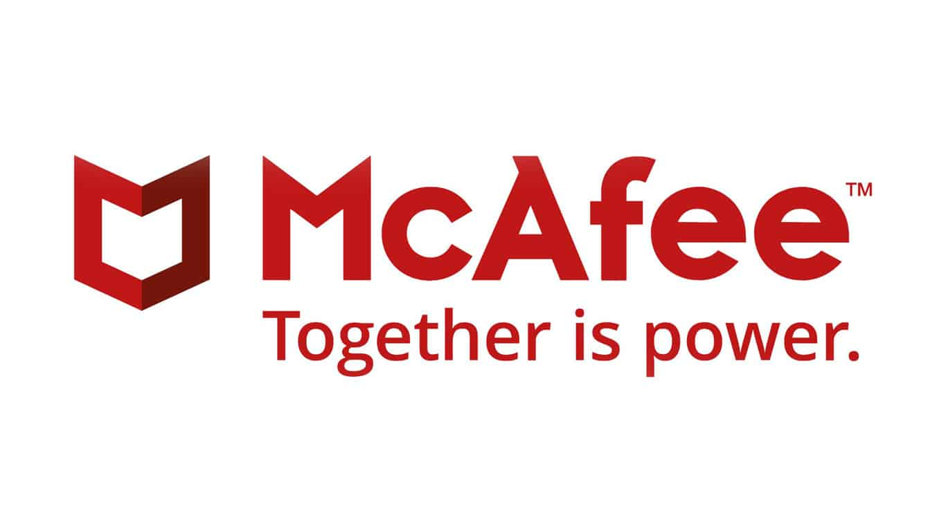 McAfee Logo from McAfee 2018