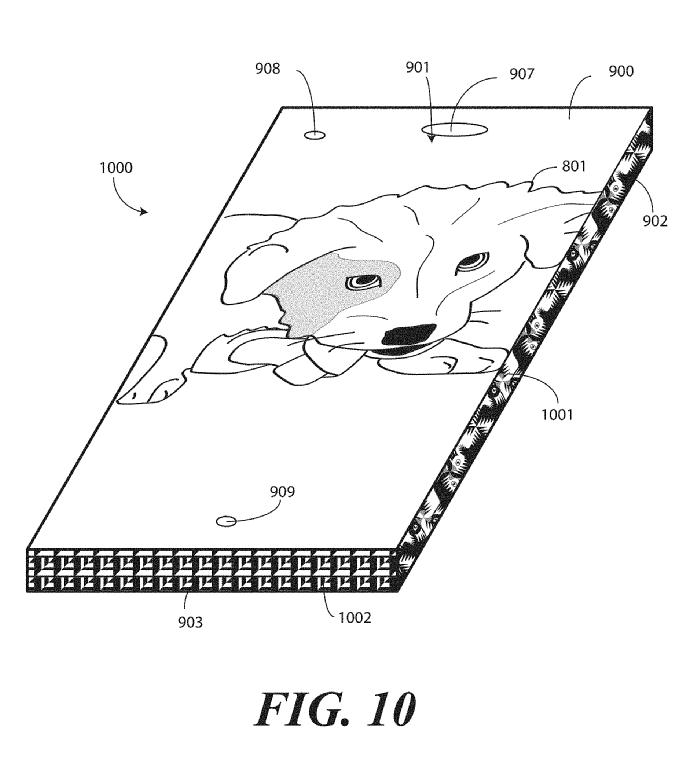 Motorola Borderless Smartphone Display Patent 11