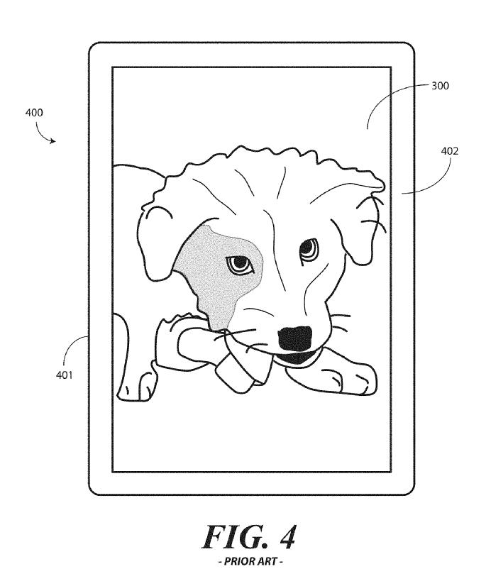 Motorola Borderless Smartphone Display Patent 14