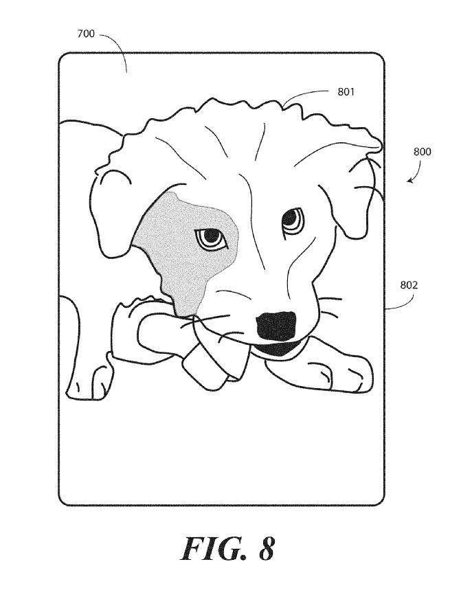 Motorola Borderless Smartphone Display Patent 16