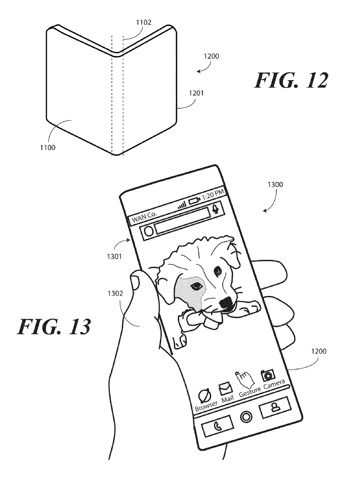 Motorola Borderless Smartphone Display Patent 20