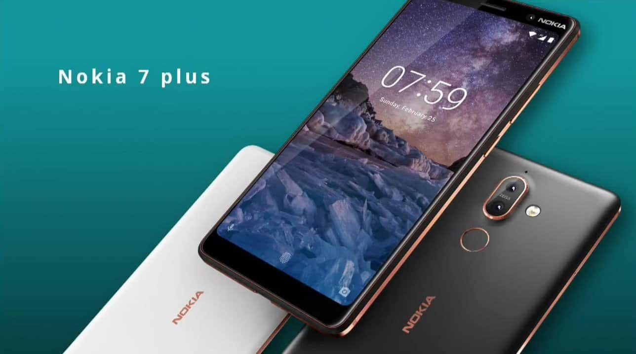 Nokia 7 Plus MWC 2018 official image 1