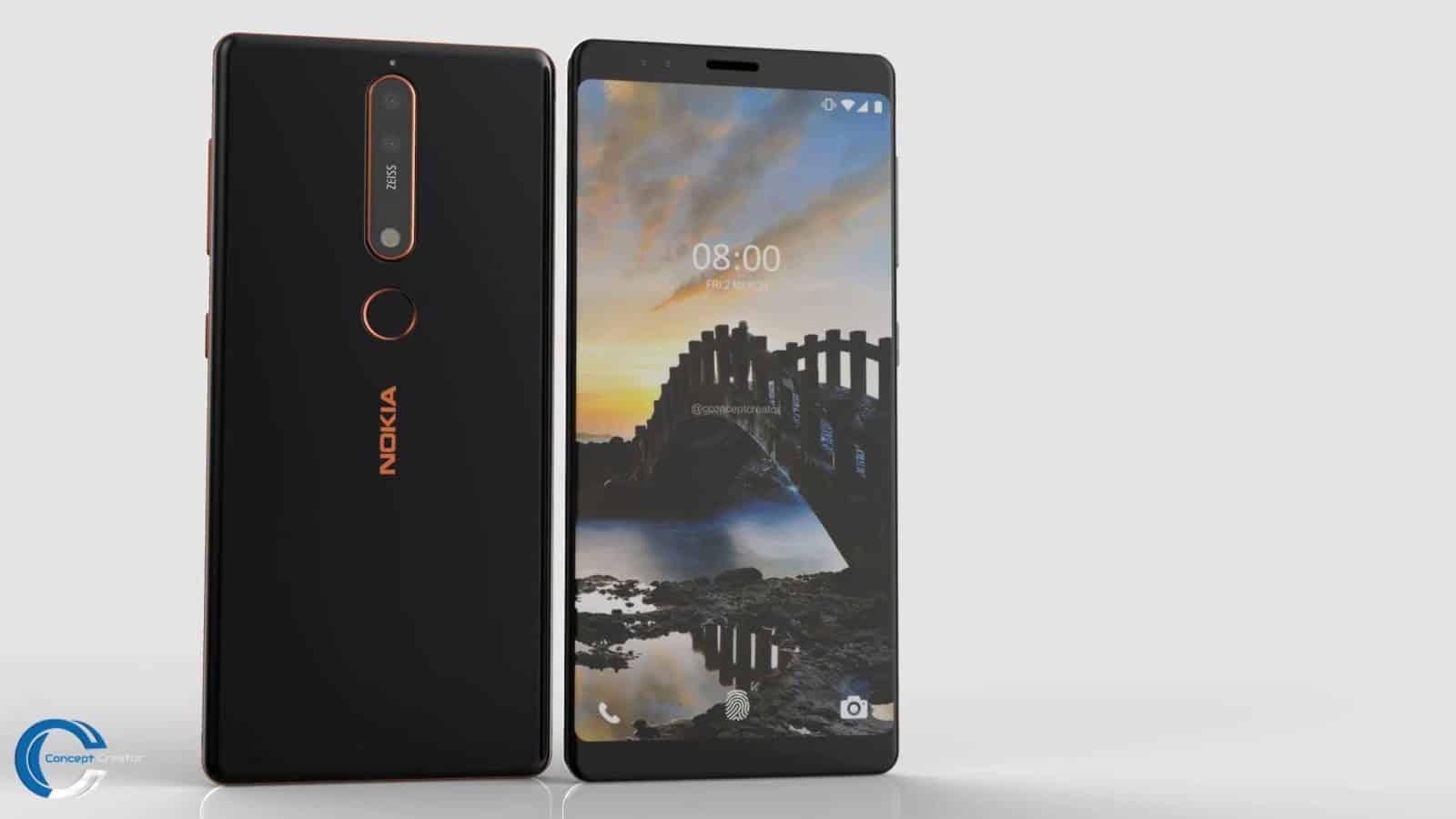 Video: Nokia 8 Sirocco Concept Comes With Quad-Camera ...