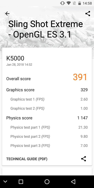 OUKITEL K5000 Benchmarks 6