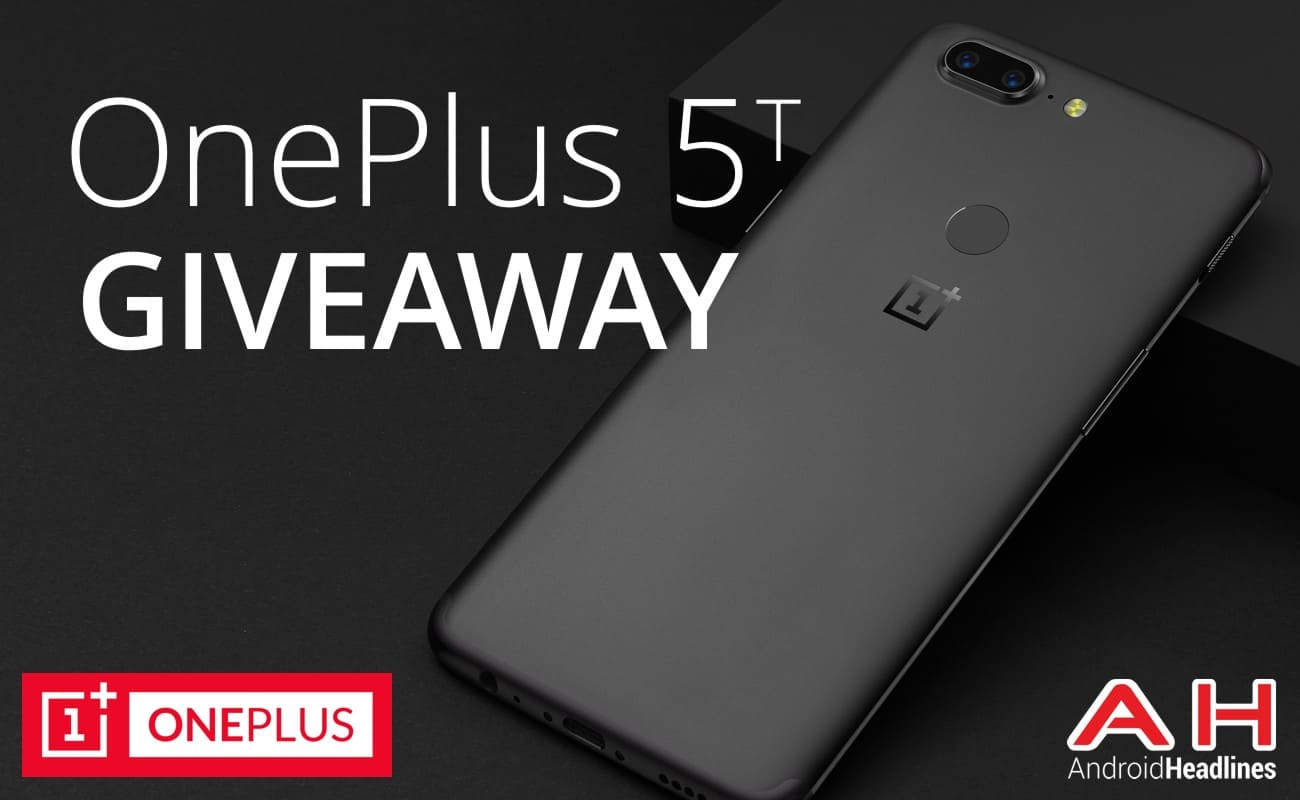 Oneplus 5t Giveaway Android Headlines