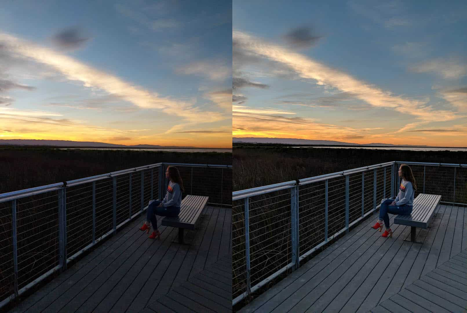 Pixel Visual Core Before And After On Pixel 2 1