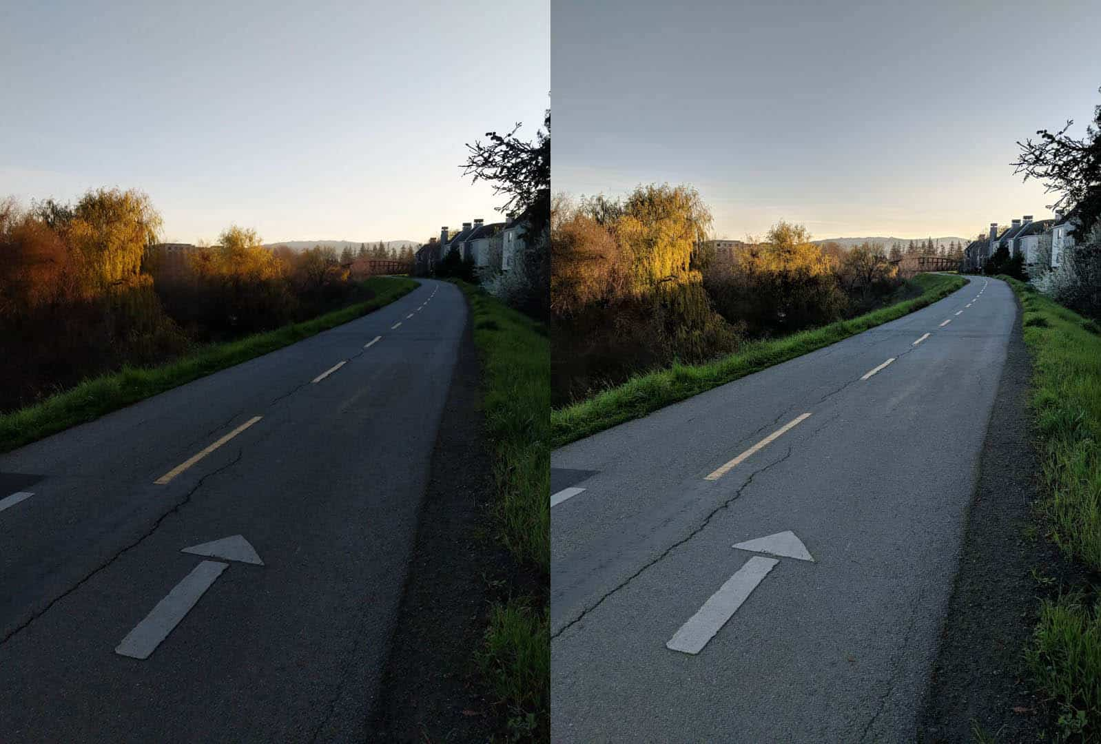 Pixel Visual Core Before And After On Pixel 2 3