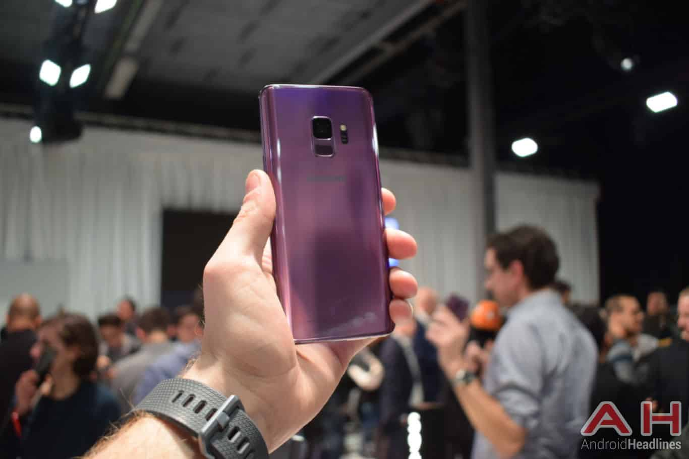 Samsung Galaxy S9 Hands On AH 1