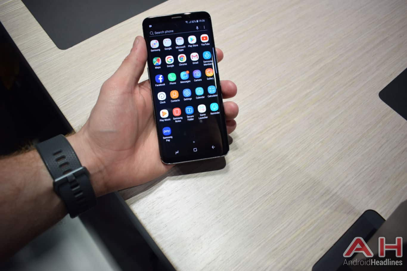 Samsung Galaxy S9 Hands On AH 13