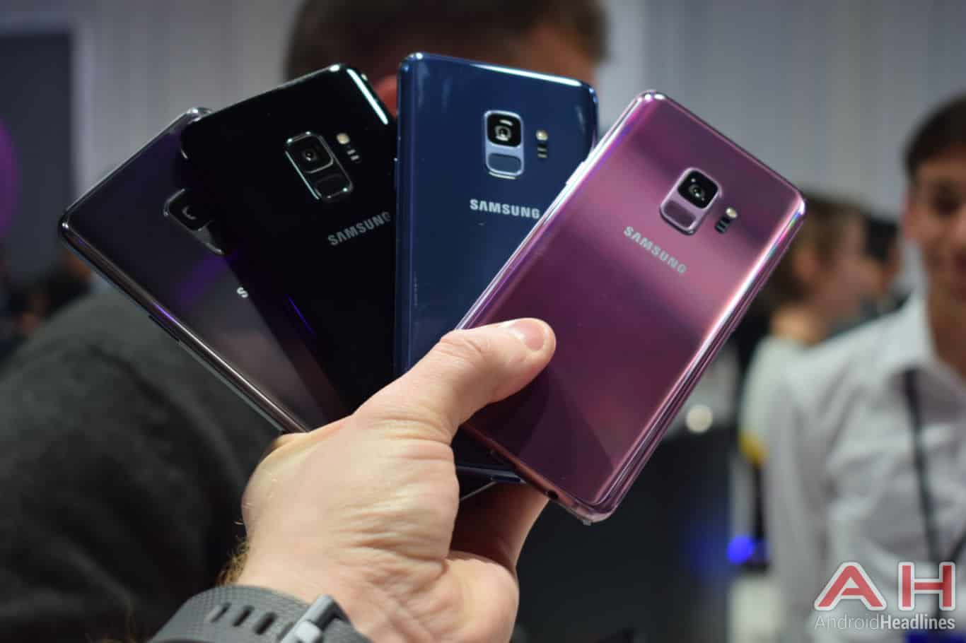 Samsung Galaxy S9 Hands On AH 18