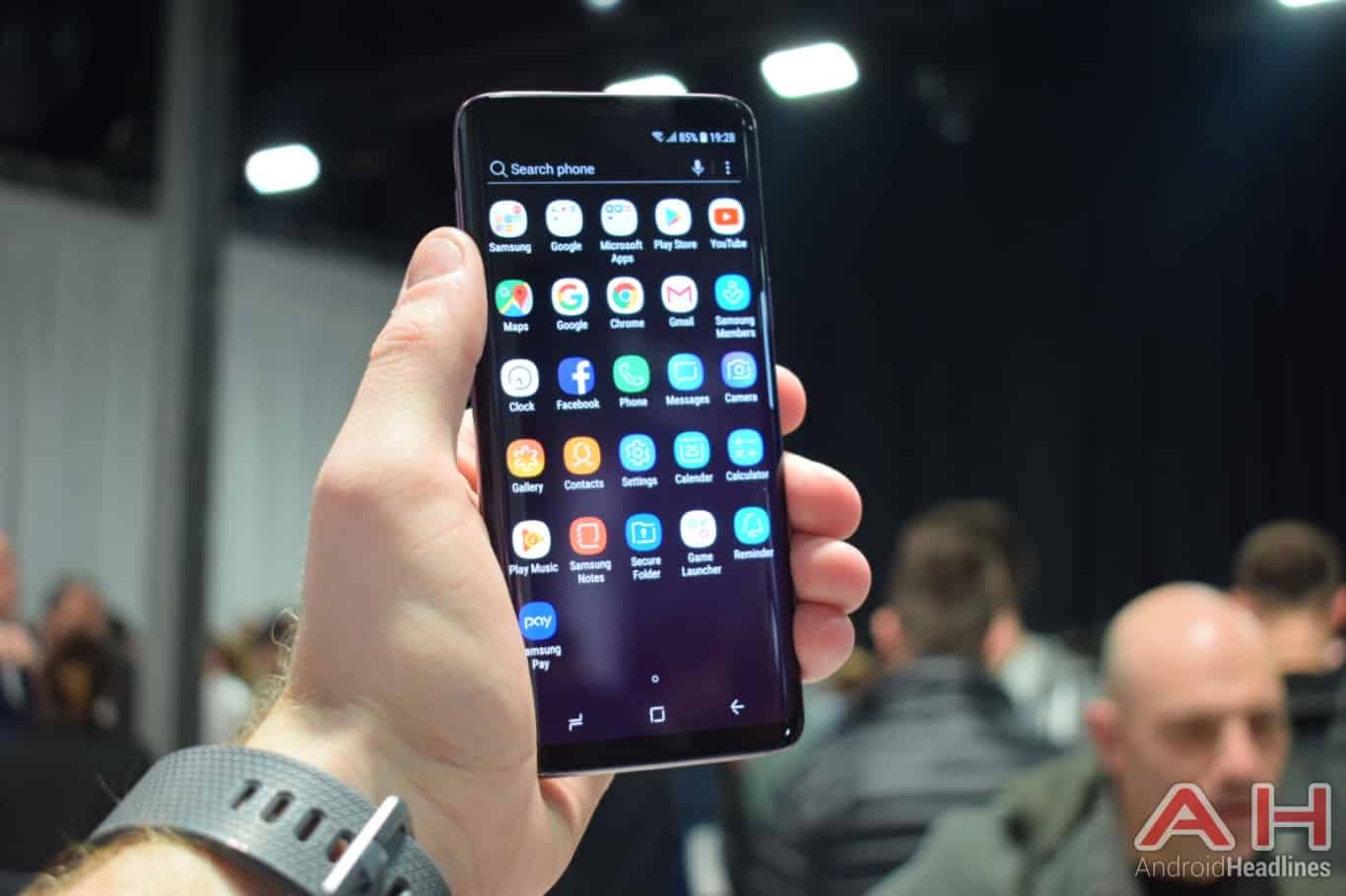 Samsung Galaxy S9 Hands On AH 5
