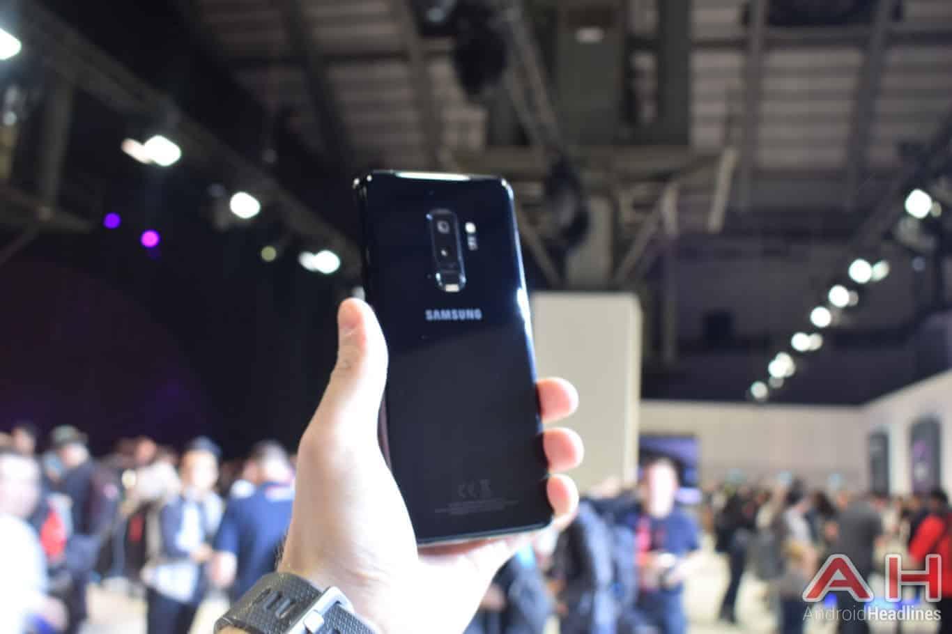 Samsung Galaxy S9 Plus Hands On AH 1