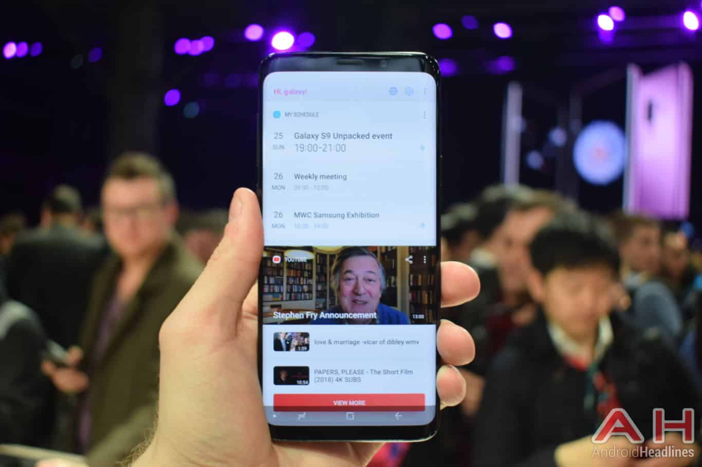 Hands On With The Samsung Galaxy S9 Plus – MWC 2018