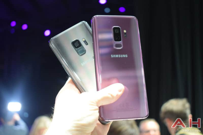 Hands On With The Samsung Galaxy S9 Plus Mwc 2018