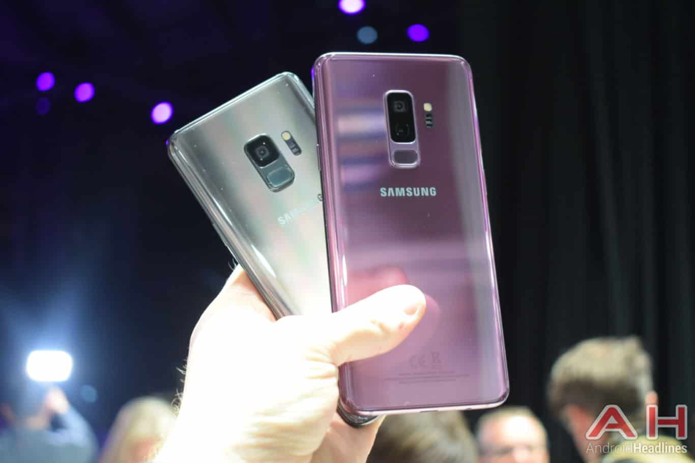 Samsung Galaxy S9 Plus Hands On AH 19