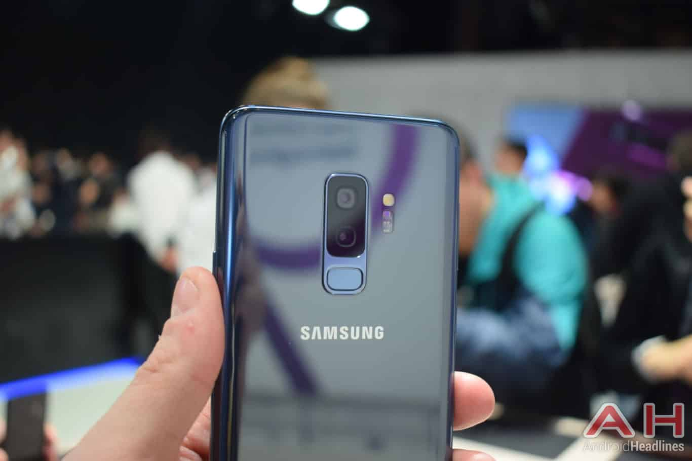 Samsung Galaxy S9 Plus Hands On AH 22