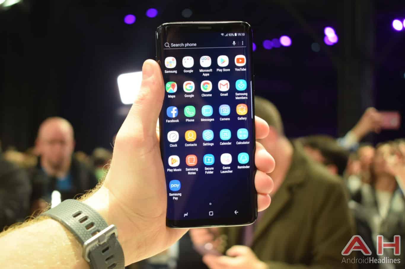 Samsung Galaxy S9 Plus Hands On AH 9