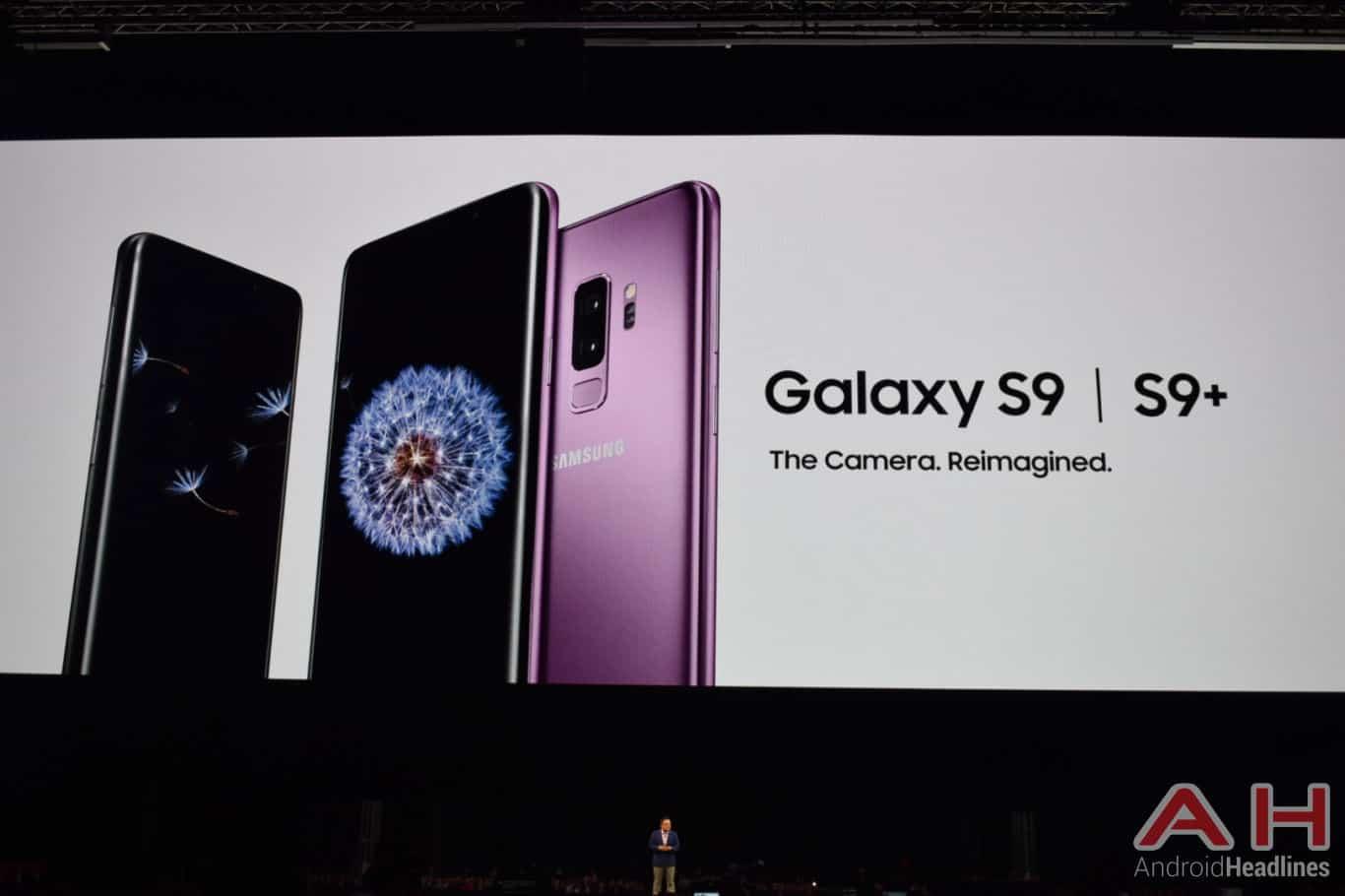 Samsung Galaxy S9 Plus MWC AH 14