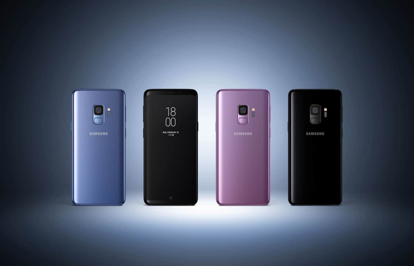 Samsung Galaxy S9 Plus Press 1