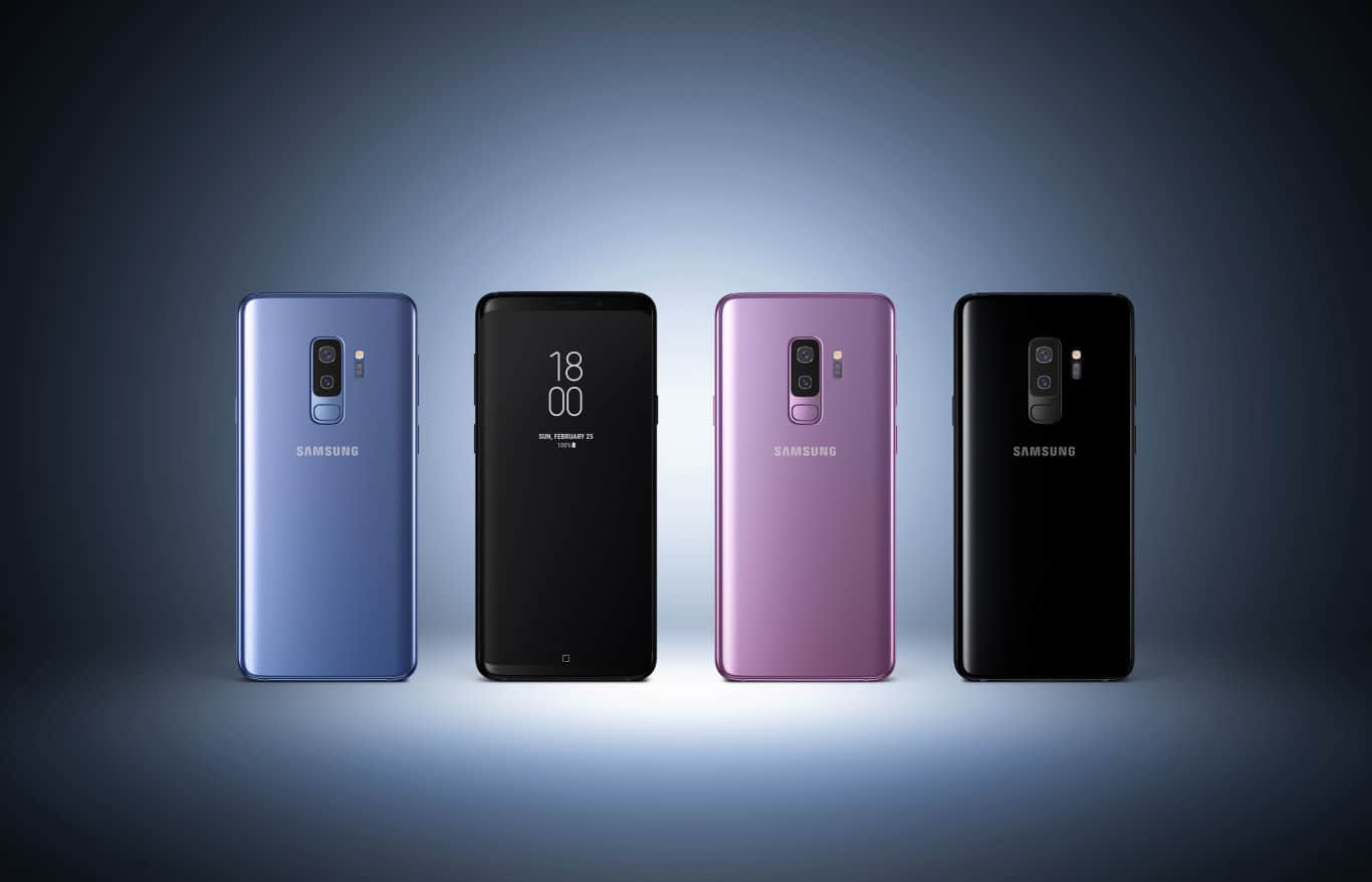 Samsung Galaxy S9 Plus Press 2