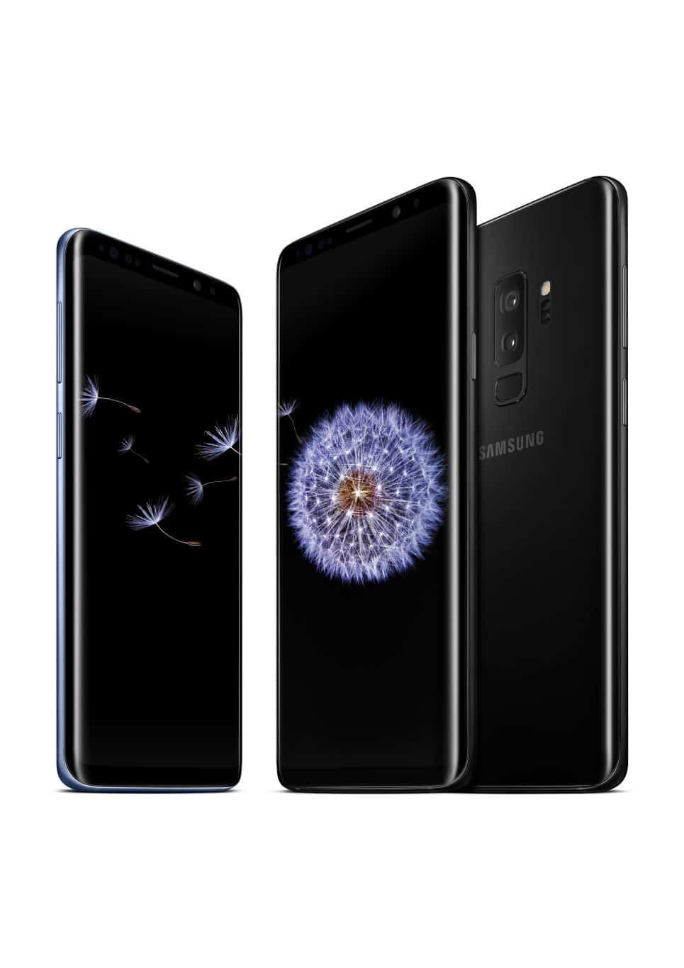 Samsung Galaxy S9 Plus Press 4