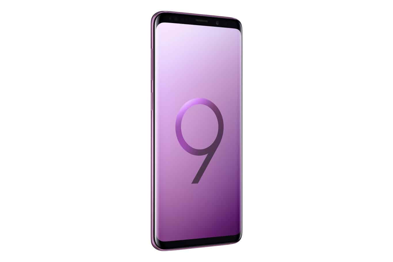 Samsung Galaxy S9 Plus Press 9