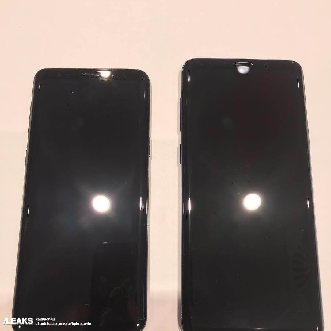 Samsung Galaxy S9 S9 Plus real life images leak 3