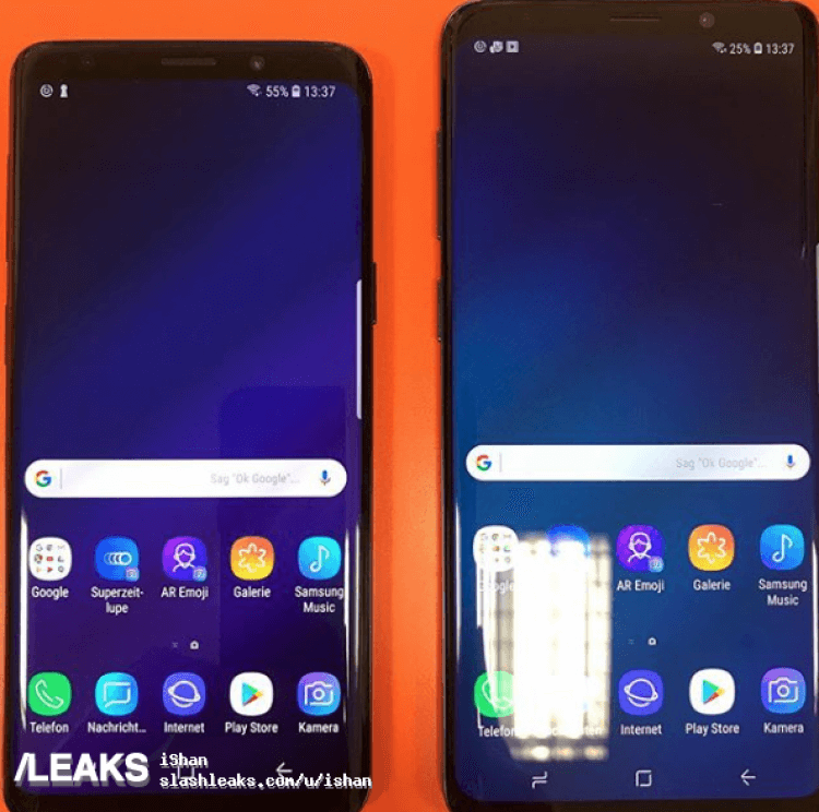 Samsung Galaxy S9 S9 Plus real life images leak 5