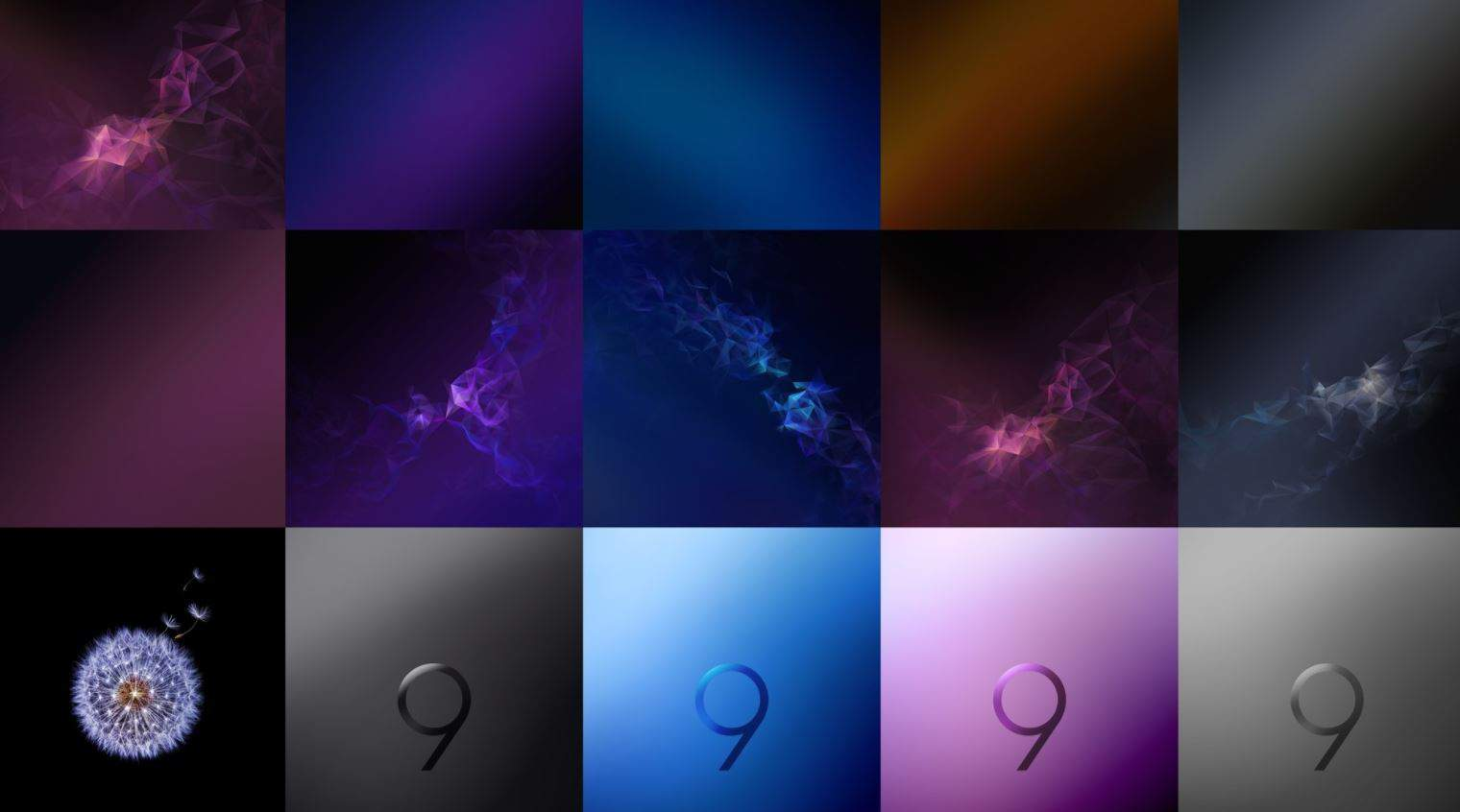 Download Samsung Galaxy S9 Plus Official Wallpapers