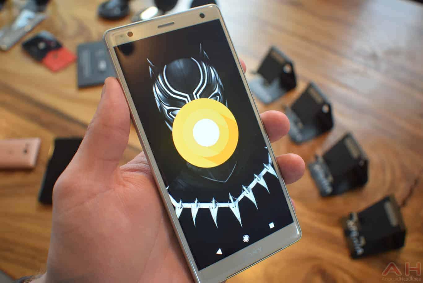 Sony Xperia XZ2 MWC 18 AM AH 15