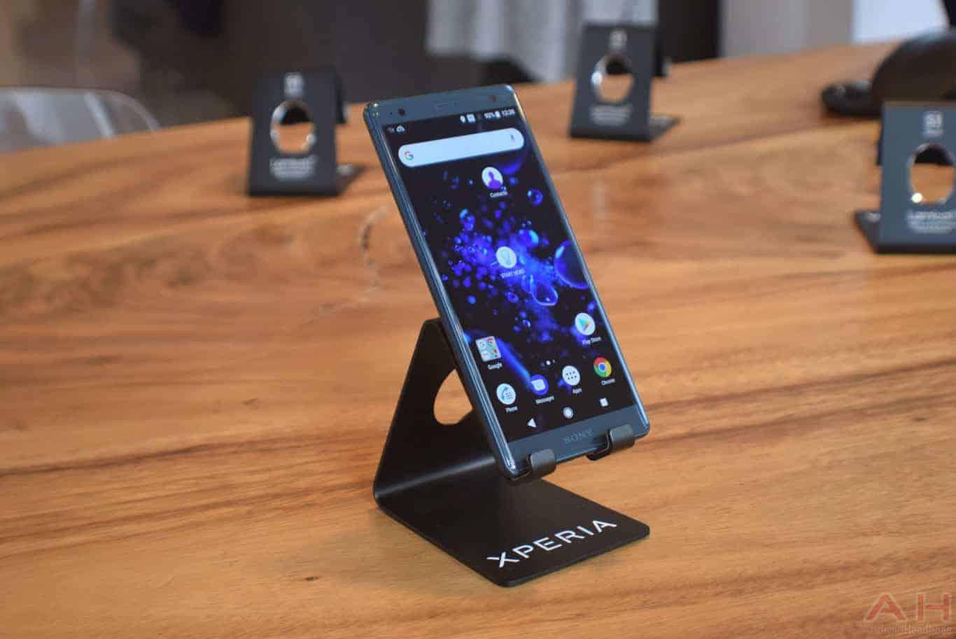 Sony Xperia XZ2 MWC 18 AM AH 22