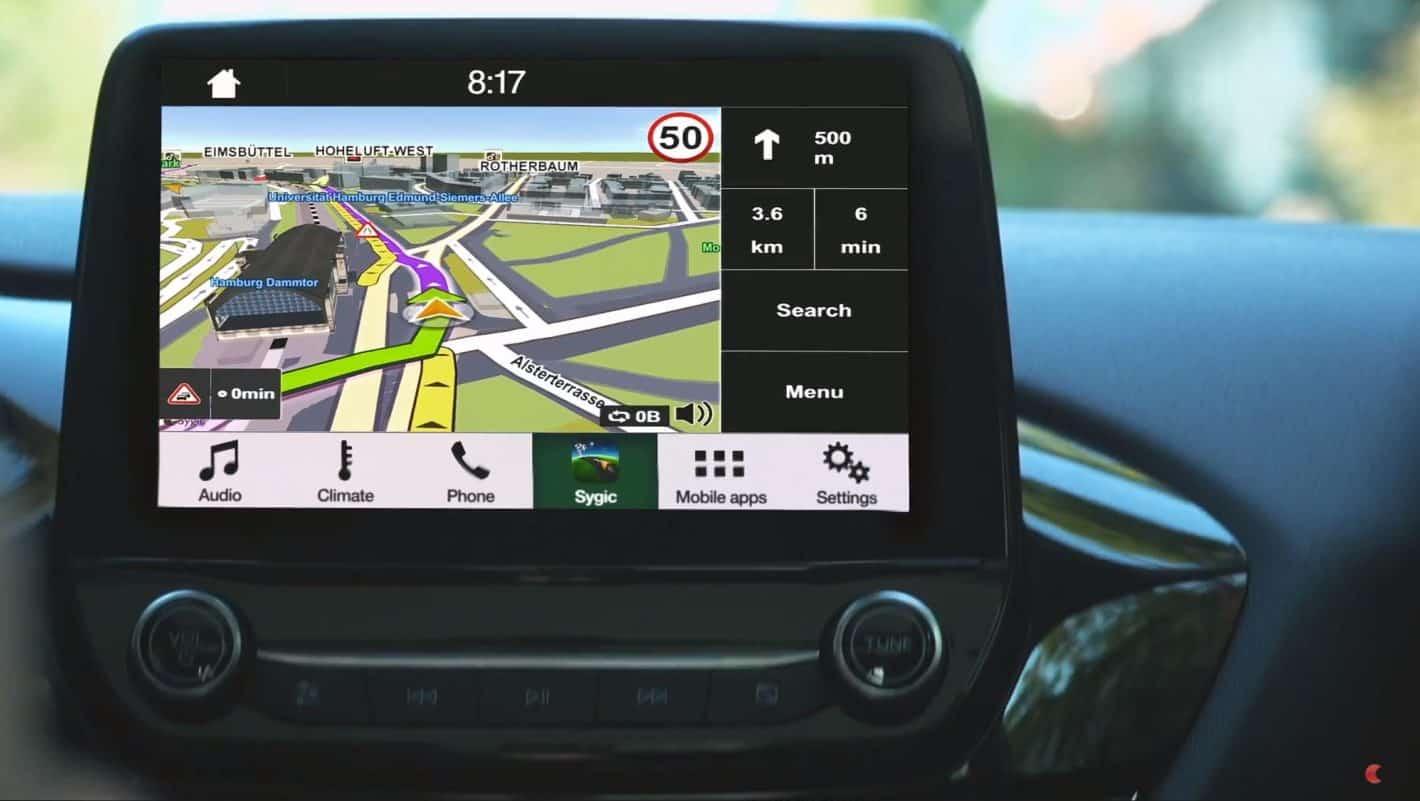 Sygic Navigation Ford Promo Screenshot