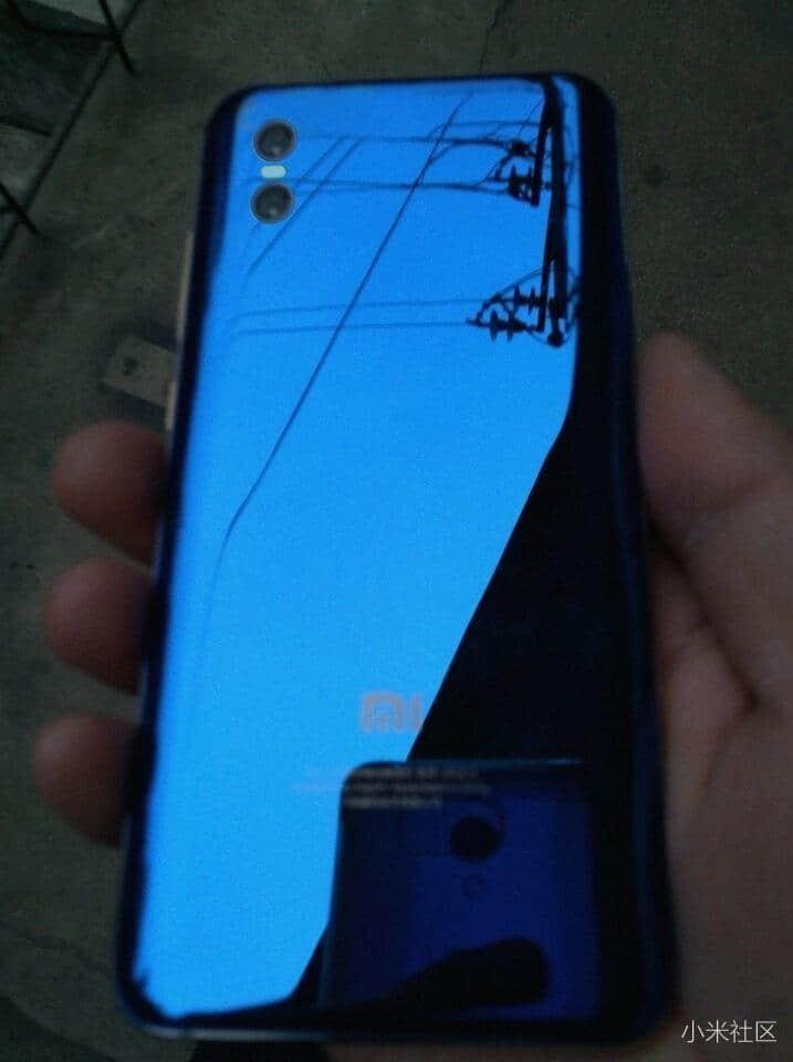 Xiaomi Mi 7 real life leak 2
