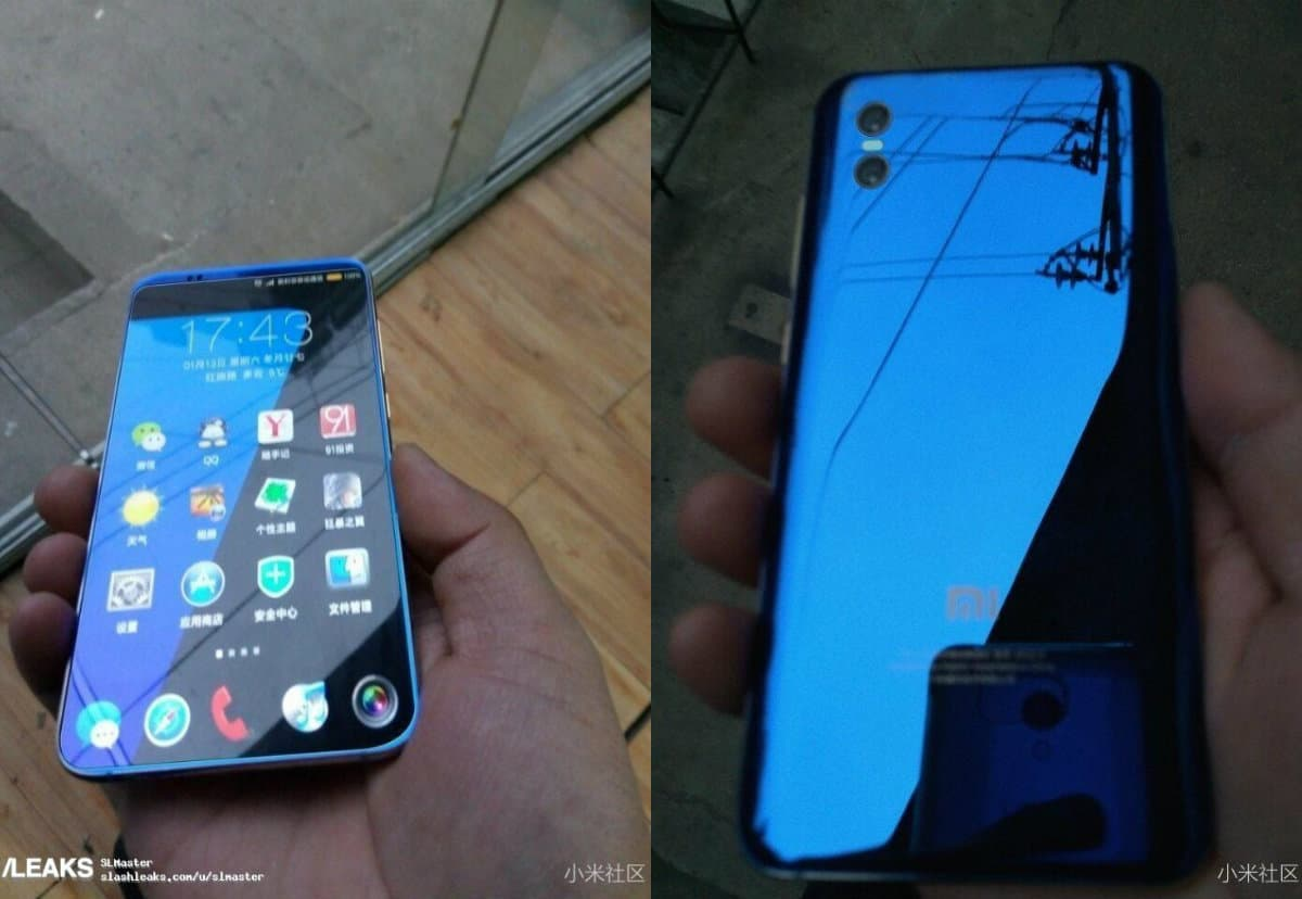 Xiaomi Mi 7 Leaks In Real Life Images With Thin Bezels