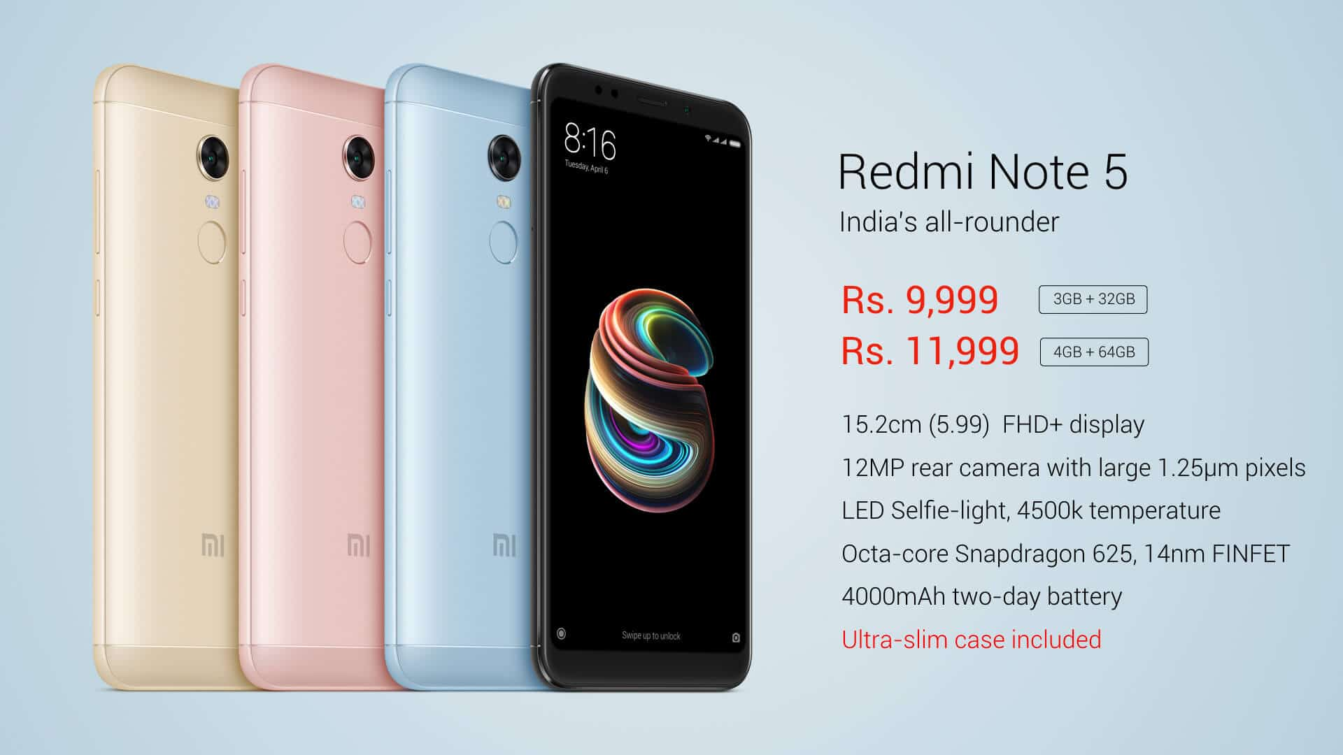 Xiaomi Redmi Note 5 official image 1