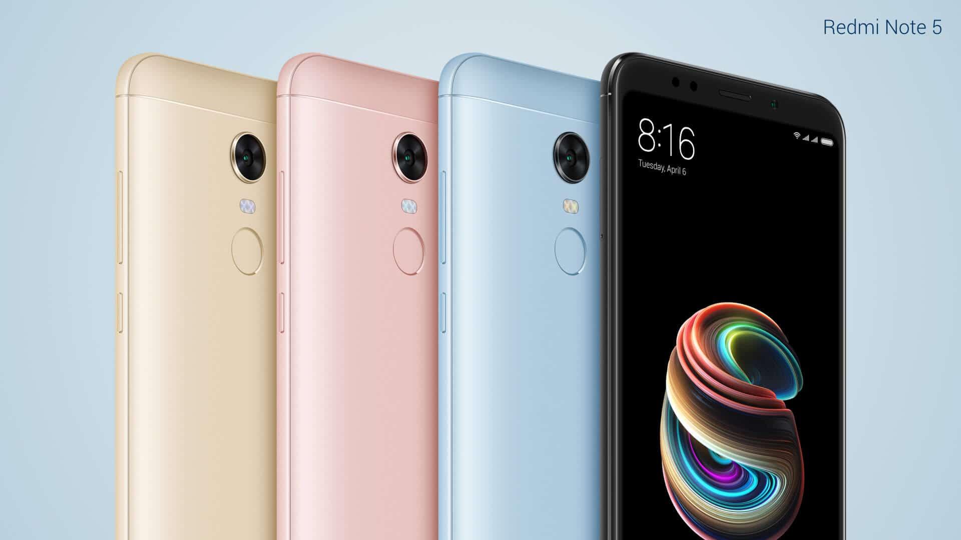 Xiaomi Redmi Note 5 official image 3