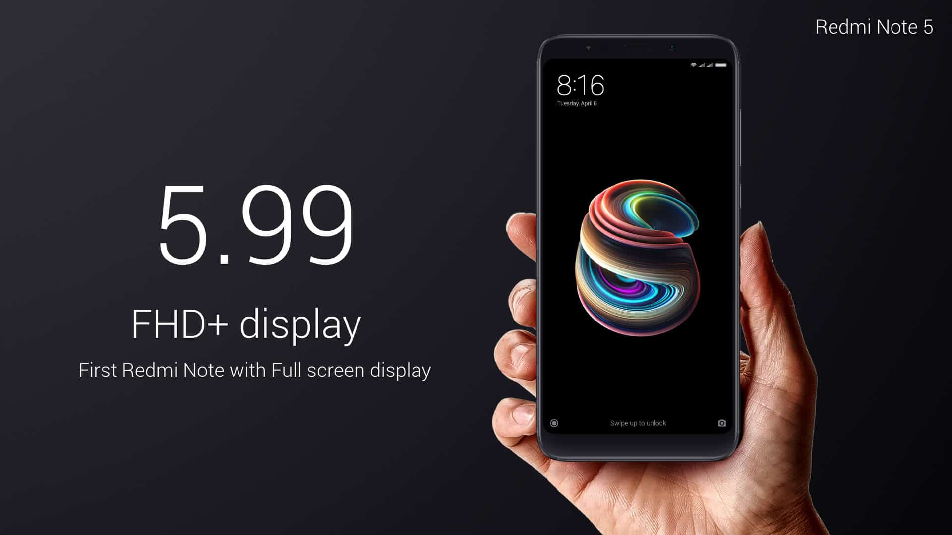 Xiaomi Redmi Note 5 official image 5