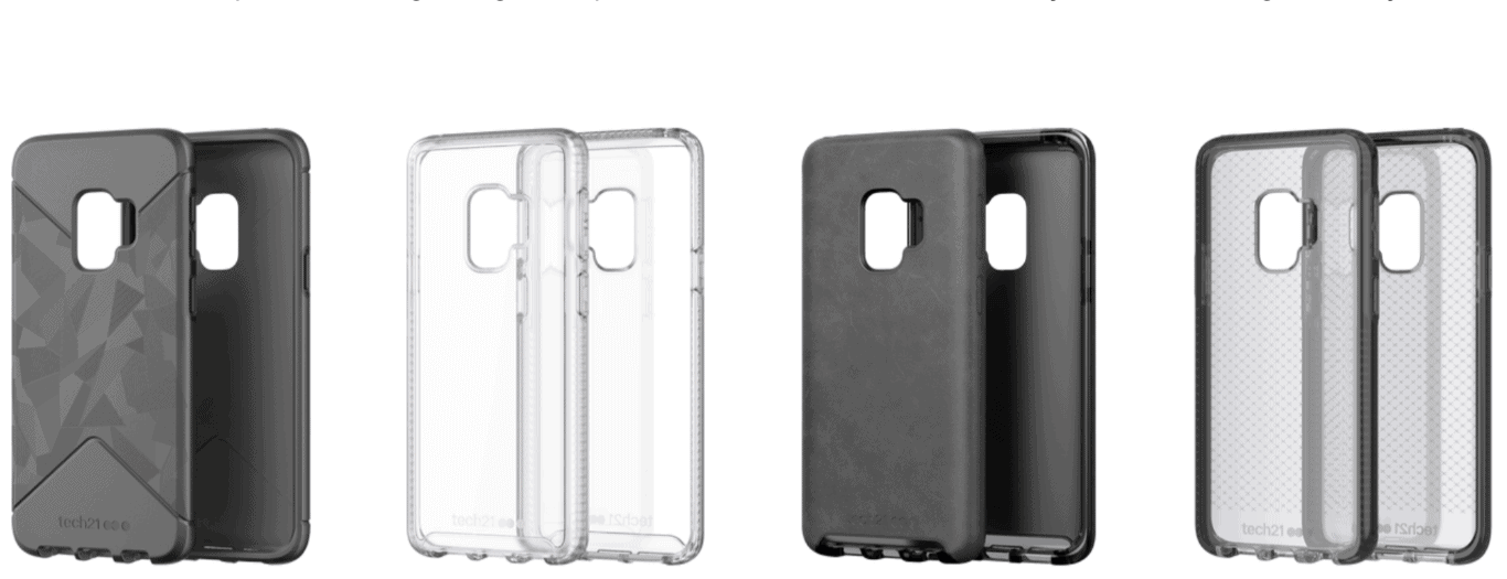 tech21 Galaxy S9 S9 Plus Cases from tech21