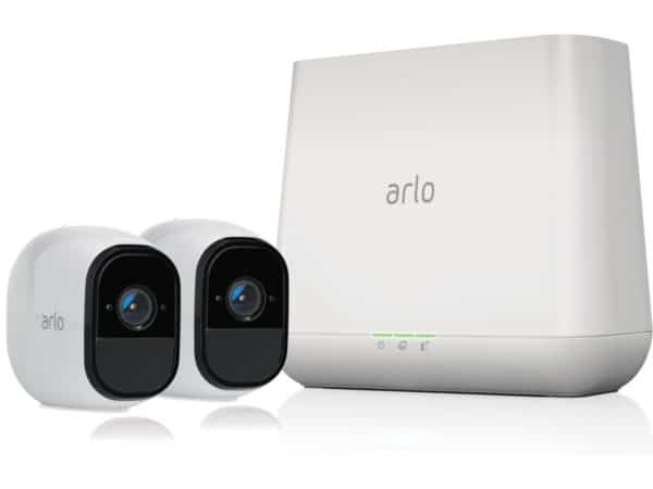 NETGEAR Arlo Pro Security System with Siren (2 Cameras)
