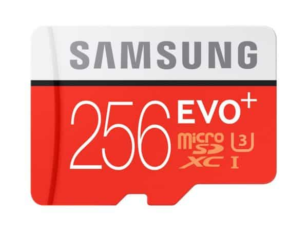 Samsung EVO Plus - 256GB Micro SD Card