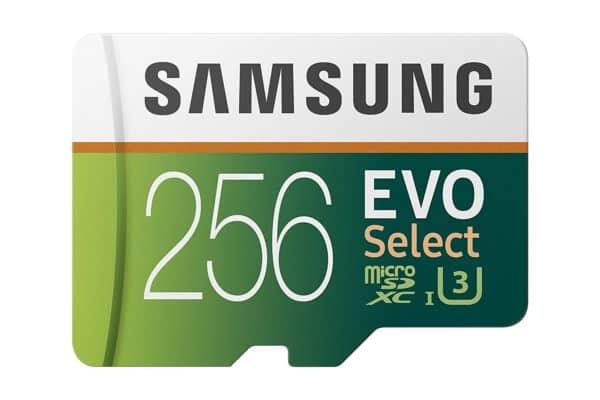 Samsung EVO Select - 256GB Micro SD Card