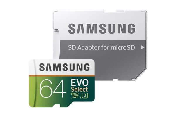 Samsung EVO Select - 64GB Micro SD Card