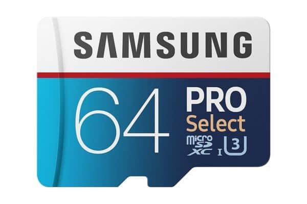 Samsung Pro Select - 64GB Micro SD Card