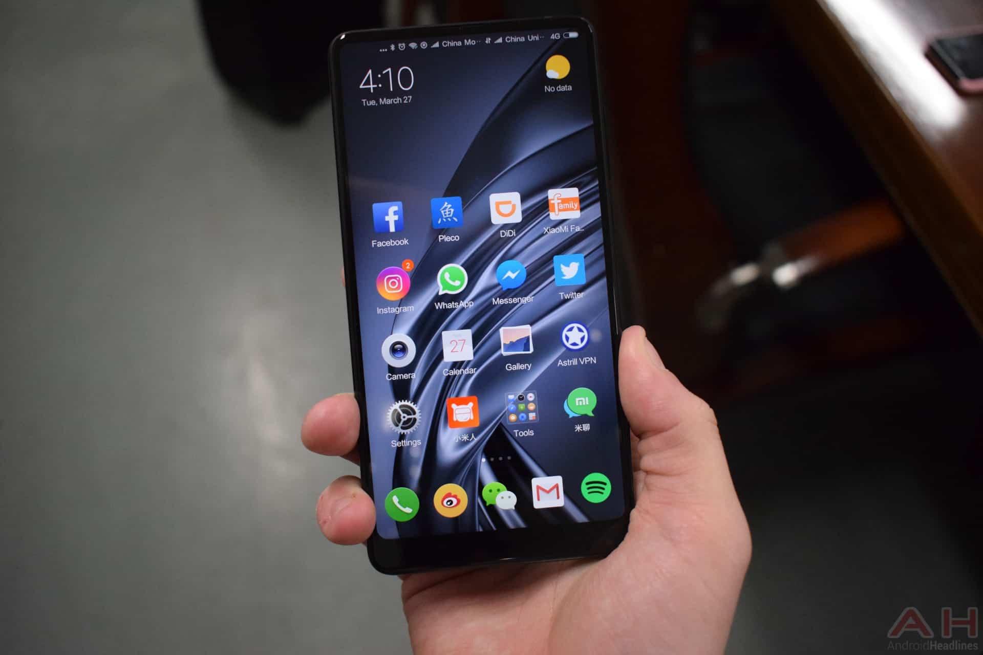 AH Xiaomi Mi MIX 2S hands on 18